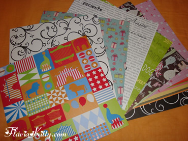 Material de scrapbook fl via kitty - Material de scrapbooking ...