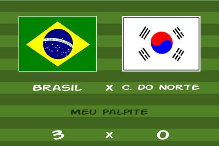 Copa do Mundo 2010 – Brasil x Coréia do Norte