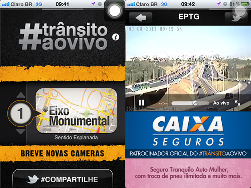 App para ajudar no Trânsito – Brasília