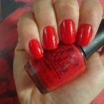 Esmalte da Semana: Déjà vu – Big Apple Red O.P.I
