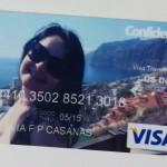 Cartão Visa Travel Confidence Personalizado