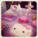 Bolo da Hello Kitty + Meus 30 anos