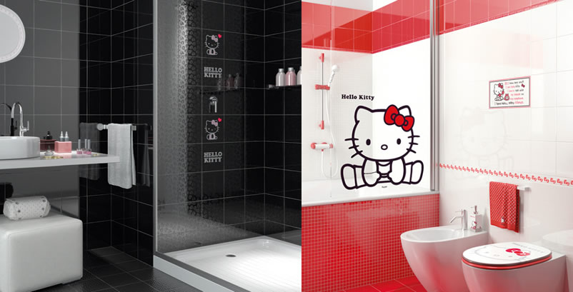 Azulejos Para Baños Hello Kitty:Azulejo da Hello Kitty
