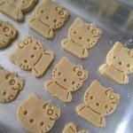 Biscoitinhos de maizena amanteigado da Hello Kitty – Sem Gluten