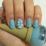 Esmalte da semana: Sorvetinho azul