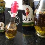 Azeite Aromatizado com alho e ervas