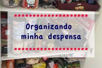 Organizando a Despensa da cozinha