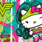 Parceria Hello Kitty e DC Comics chega ao Brasil