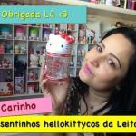 Presentinho da Leitora – uma caixa cheia de fofuras da Hello Kitty