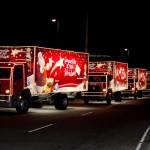 Celebrar a chegada do Natal com Coca-cola