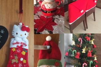 Decoração de Natal 2015 #CasadaFlaviaKitty