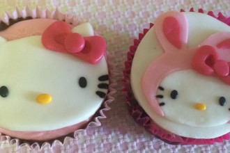 Cupcakes da Hello Kitty da Cake.My.Day