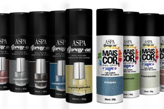Esmalte em Spray da Aspa Cosméticos