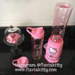 Mini Liquidificador da Hello Kitty #CasadaFlaviaKitty