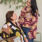 Look mãe e filha – elegante sem perder o conforto