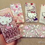 Capinhas da Hello Kitty, baratinhas no Aliexpress