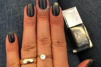 Esmalte da semana: Metal Montaigne da Dior