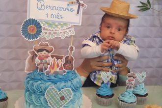 Mesversário de 1 mês do Bernardo