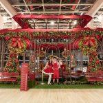 Parque à moda antiga embala Natal do Taguatinga Shopping