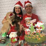 Mesversario de 6 meses do Bernardo – Tema: Natal