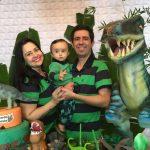 Mesversario de 11 meses do Bernardo. Tema: Dinossauro
