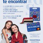 Taguatinga Shopping celebra Dia das Mães com lindas opções de echarpes e sorteio de três vales-compra no valor de R$10 mil