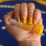 Esmalte da semana: amarelo amor pelo Brasil