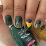 Esmalte da Semana: Vai Brasil by Colorama