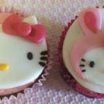 Cupcakes da Hello Kitty da Cake.My.Day