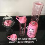 Mini Liquidificador da Hello Kitty #CasadaFlaviaKitty