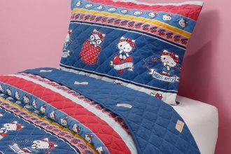 Sanrio e Artex lançam coleção para casa inspirada na Hello Kitty