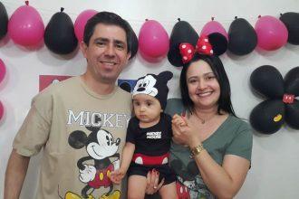 Mesversario de 9 meses do Bernardo. Tema: Mickey